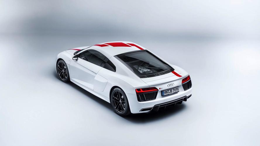 Audi R8 V10 RWS 2018, con propulsión trasera
