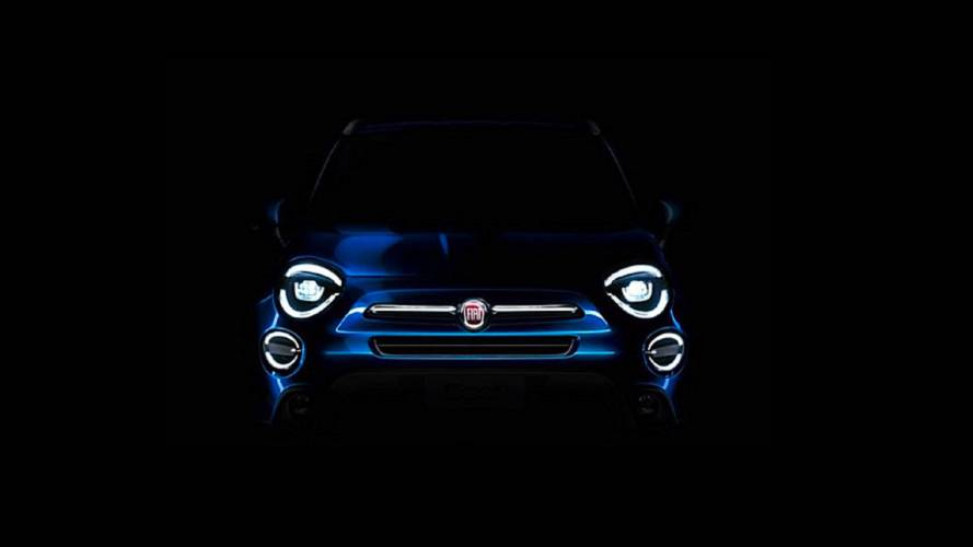 Fiat 500X reestilizado ganha teaser pouco antes da estreia