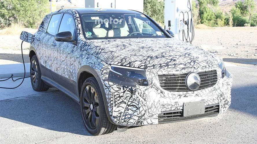 Mercedes-Benz EQC Spy Shots