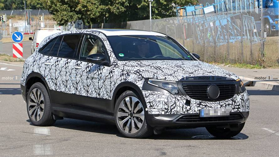 Mercedes EQ C Spied With The Least Amount Of Camouflage Yet
