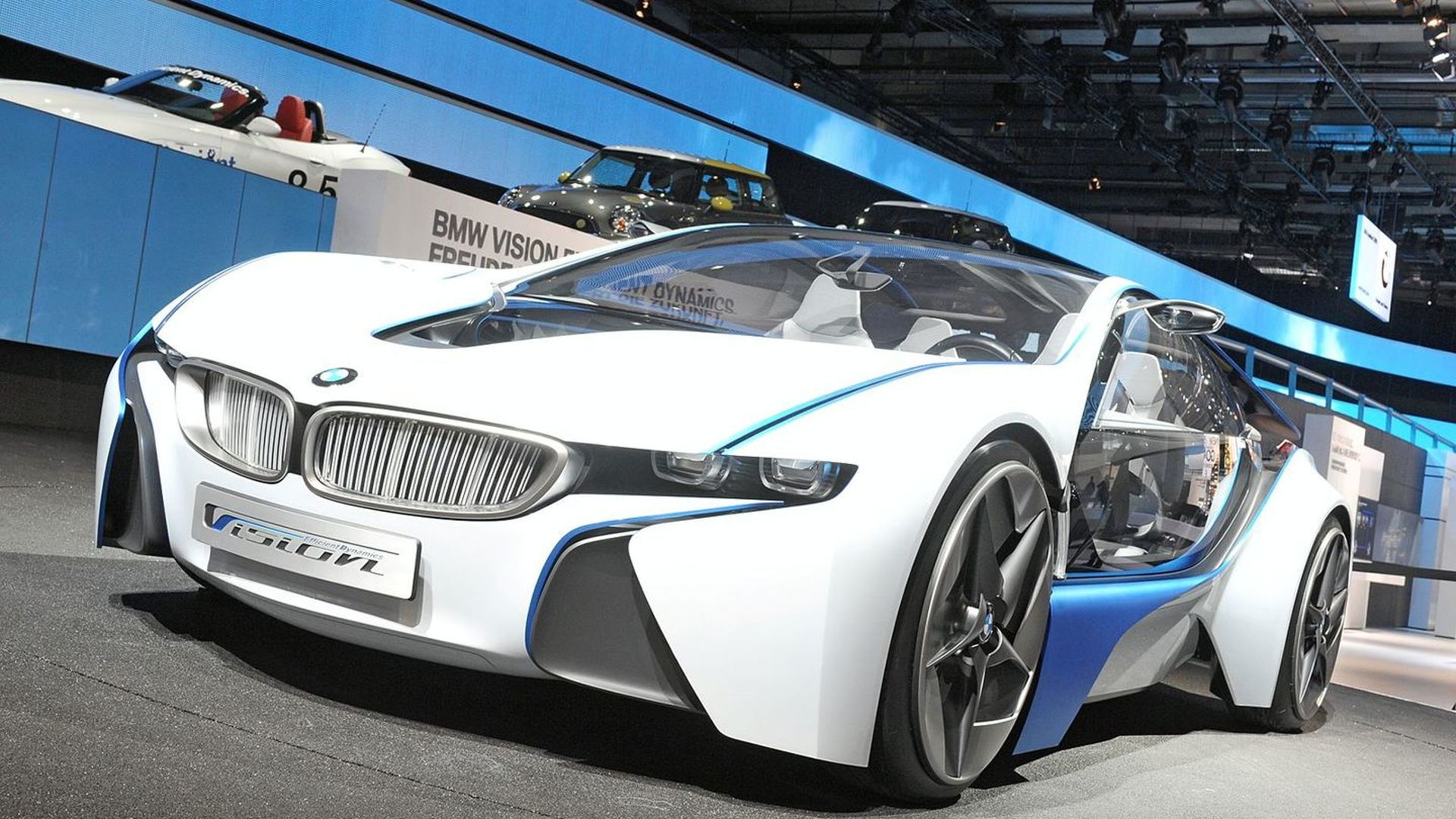 BMW Vision Efficient Dynamics Concept Officially Unveiled at ...