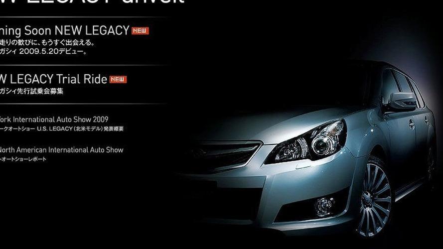Subaru Legacy Wagon Teased (JDM)