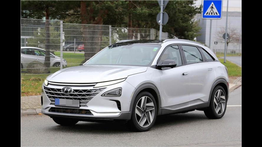 Erwischt: Wasserstoff-SUV von Hyundai