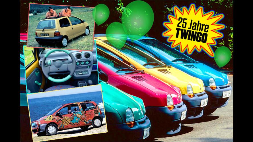 Knuddeliger Kult: 25 Jahre Renault Twingo