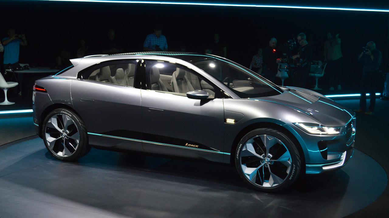 Jaguar I-Pace Concept takes dead aim at Tesla Model X