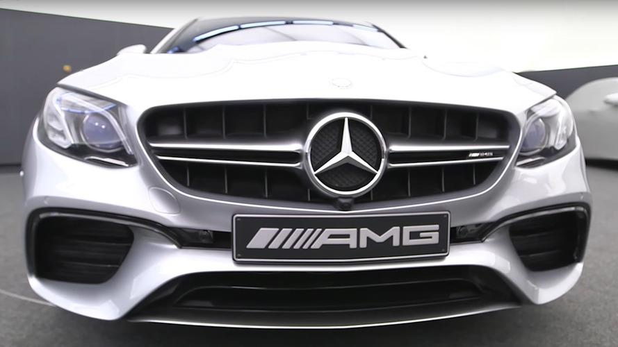 Mercedes-AMG, E63 S'in dış tasarımını anlatıyor