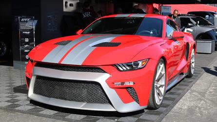 Mustang GTT'nin gerçekçi görünümü kafaları karıştırdı