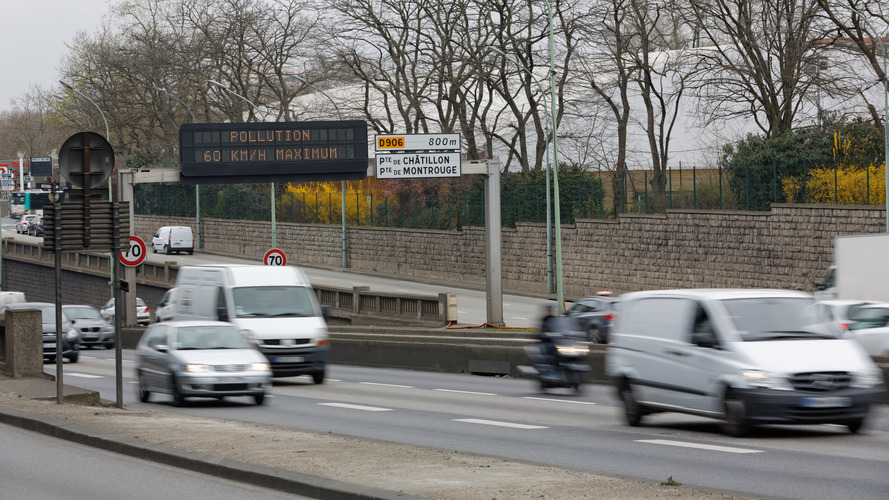 Pollution - Restriction de circulation aujourd'hui en France