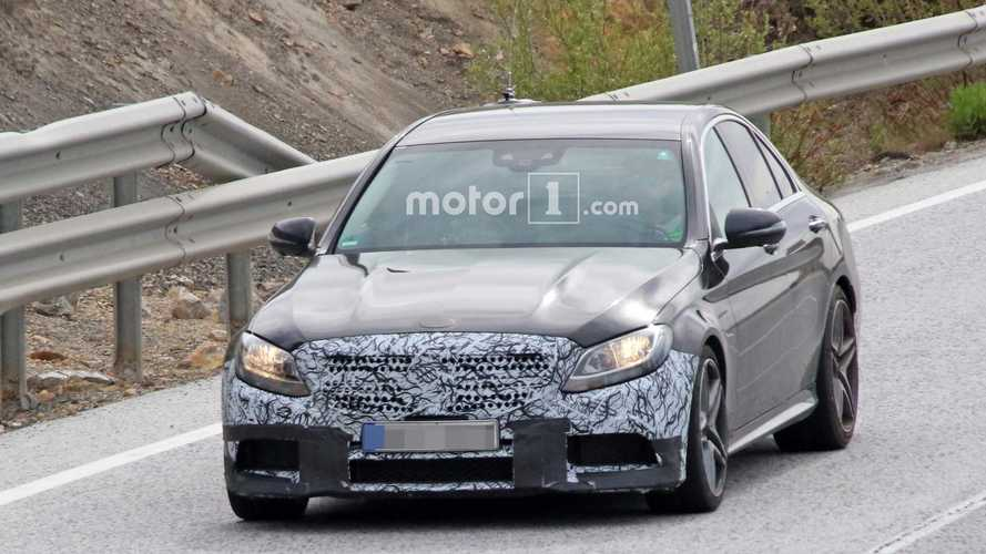 2018 Mercedes-AMG C63 Sedan spy photos
