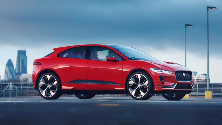 Jaguar I-Pace Concept, Avrupa tanıtımı için kırmızılara büründü