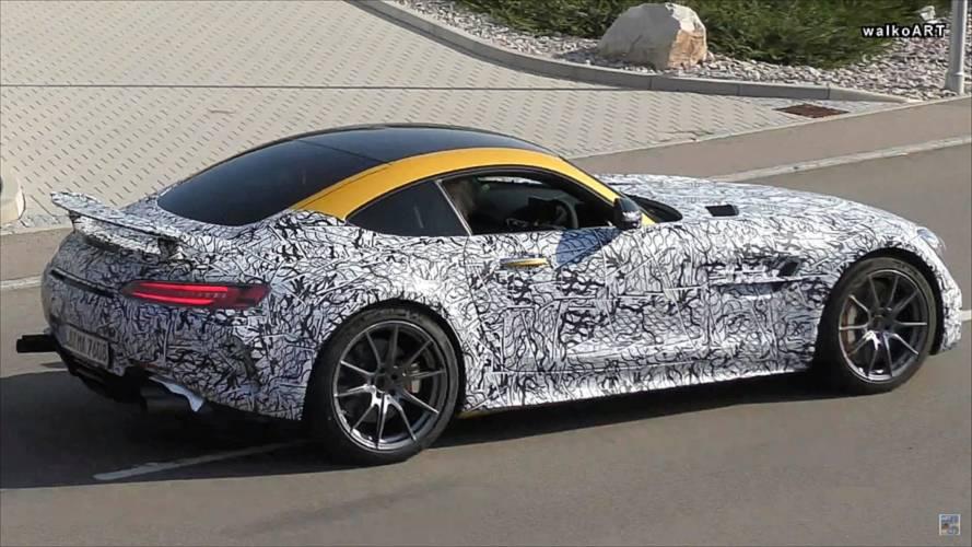 Gizemli bir Mercedes-AMG GT R modeli görüntülendi