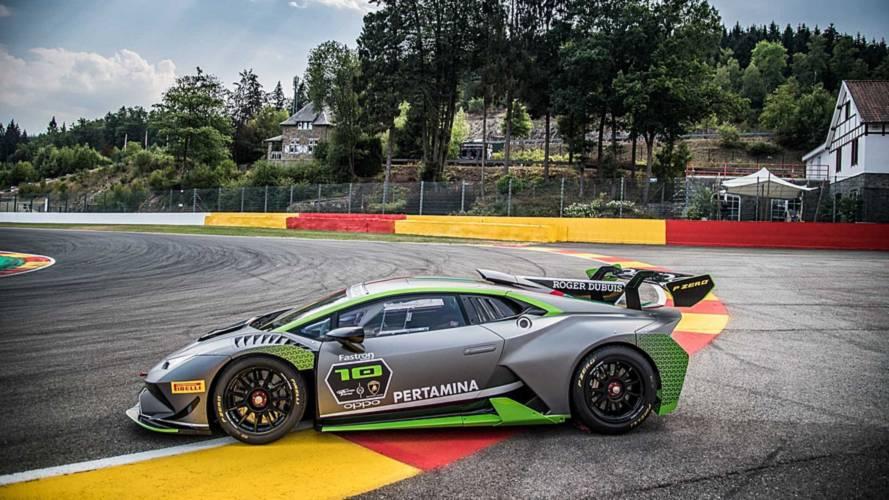 El Lamborghini Huracán Super Trofeo Evo está de aniversario