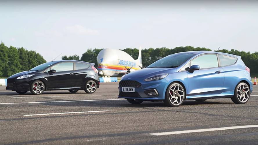 New Ford Fiesta ST Drag Races The Old One