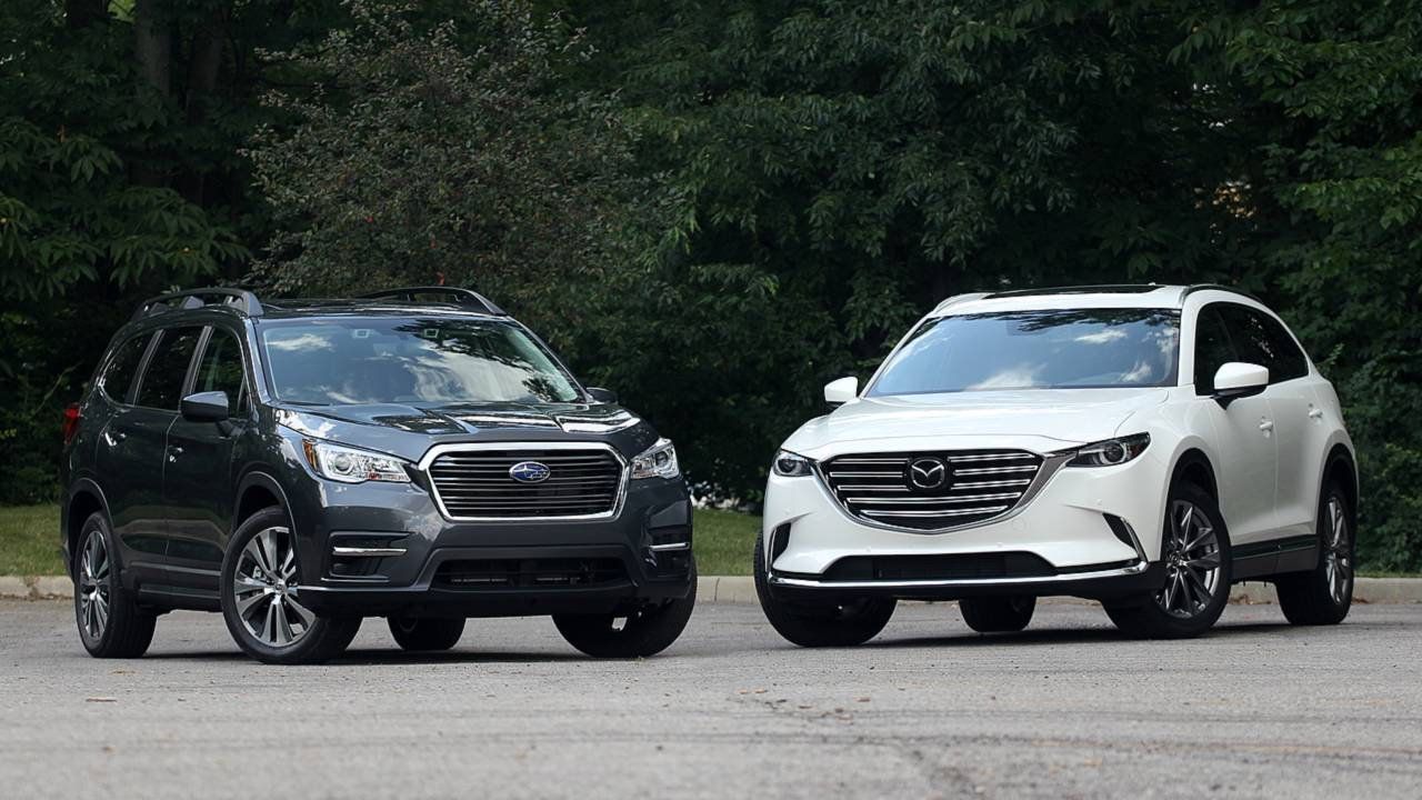 Hyundai Santa Fe Towing Capacity >> Subaru Ascent Vs. Mazda CX-9: Substance, Meet Style