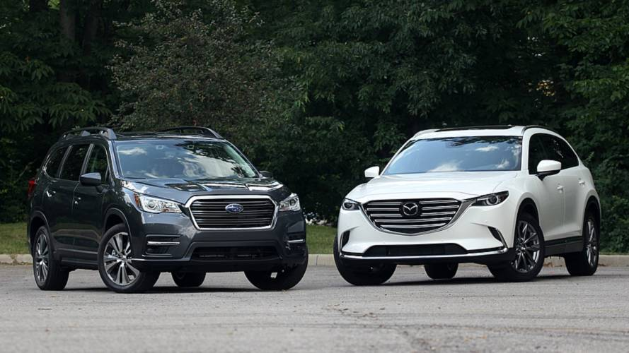 2019 Mazda CX-9 vs. 2019 Subaru Ascent