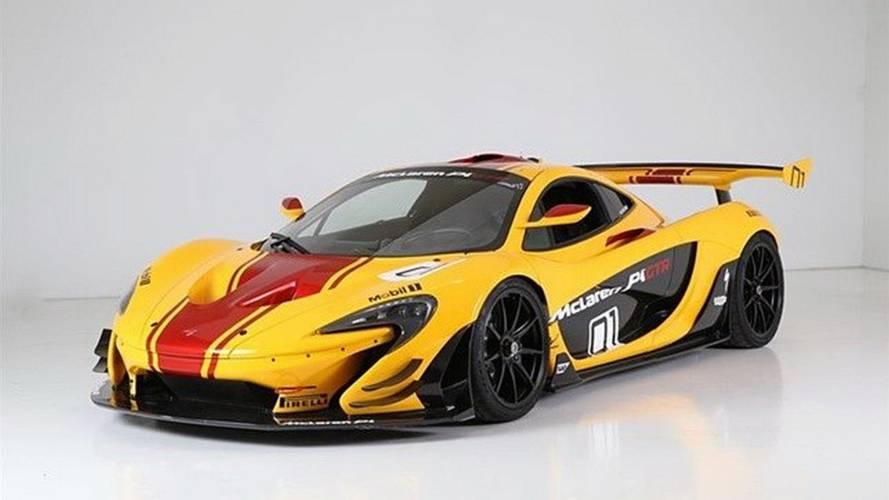 La première McLaren P1 GTR LM est à vendre !