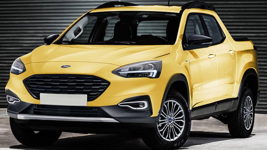 Et si Ford lançait un pick-up sur base de Focus ?