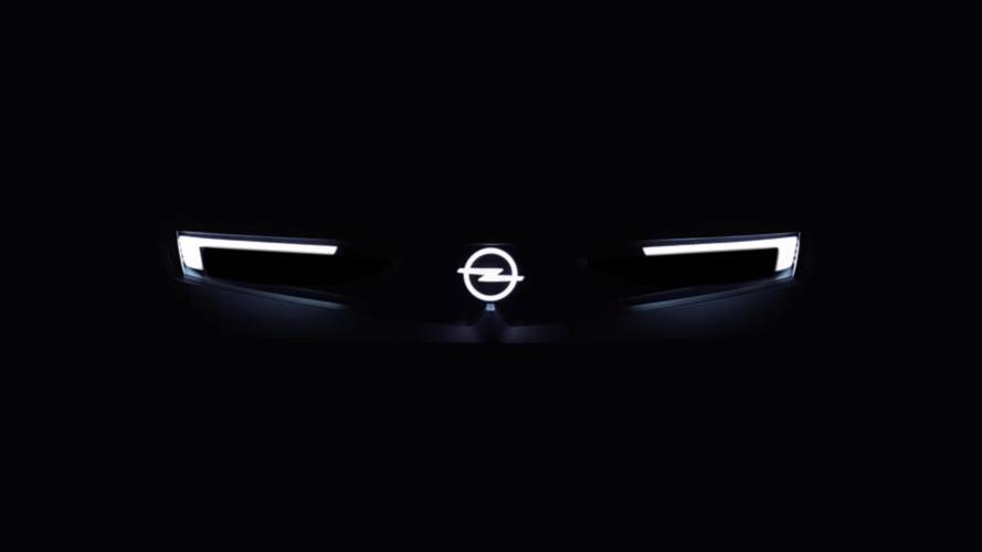 Opel GT X Experimental concept teasers