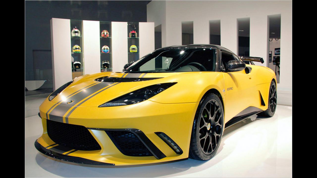 Lotus gibt Gas