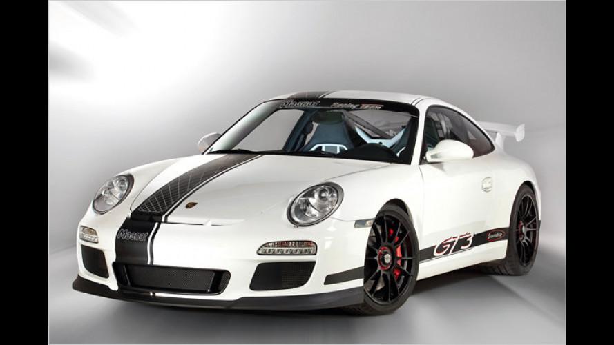 Konzertsaal im Schneemobil: Porsche GT3 von Magnat