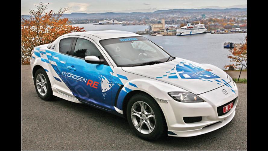 Mazda testet Wasserstoff-Wankel jetzt auch in Europa
