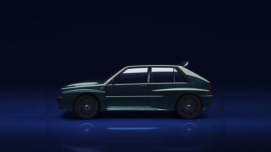 Lancia Delta Integrale render Villa D'Este