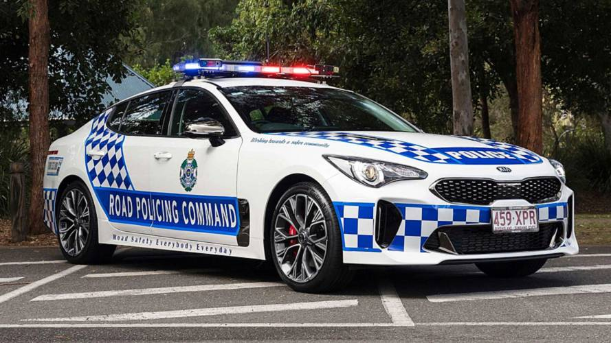 Australian Highway Patrol Gets Kia Stingers To Chase Down Speeders