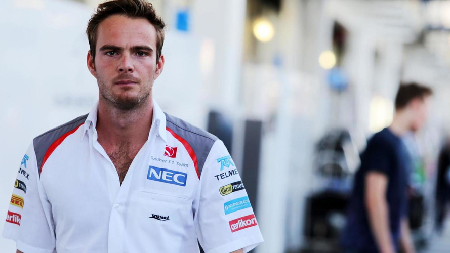Van der Garde to test GP2 car on Monday