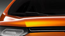 Ford EcoSport compact SUV concept teaser 19.12.2011