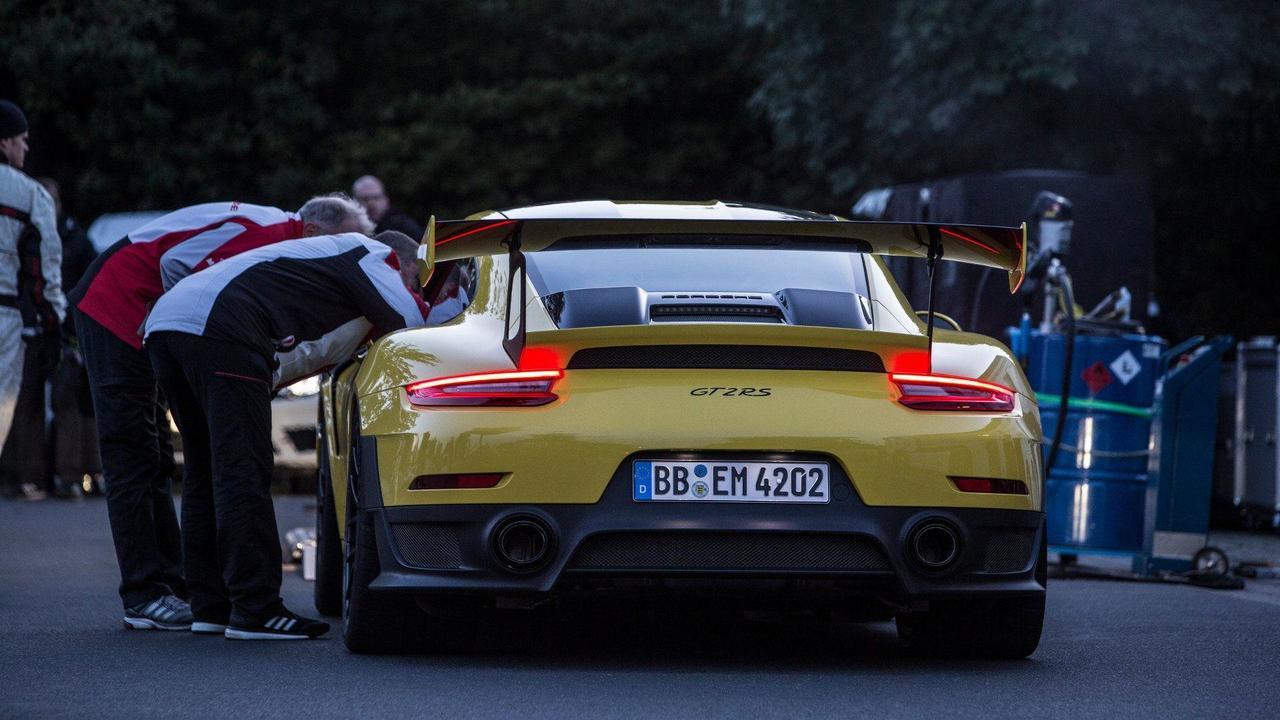 Porsche 911 GT2 RS Nurburgring Record | Motor1.com Photos