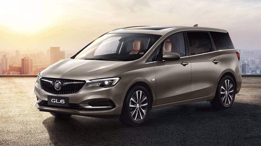 Buick GL6 Minivan And Excelle GX Wagon Debut In China