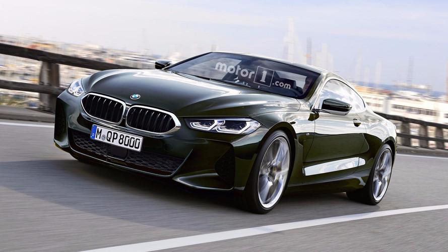 Yeni BMW 8 Serisi'nin kamuflajsız fotoğrafları sızdı!