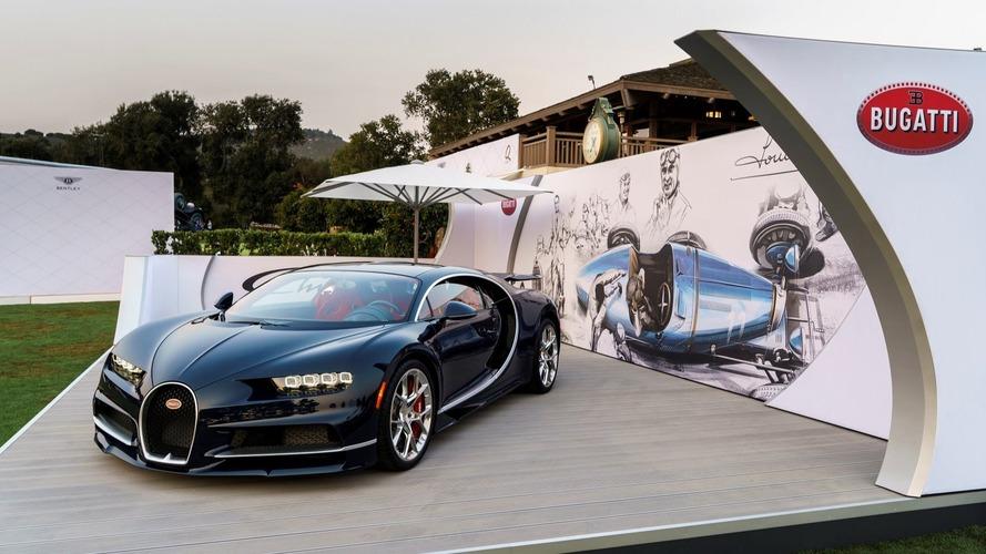 Bugatti Chiron - Des commandes au beau fixe