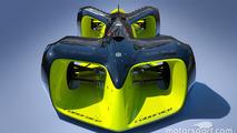 Driverless race car concept for Roborace