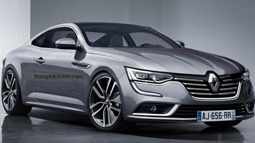 Renault Talisman Coupe render shows a worthy Laguna Coupe successor that won't happen