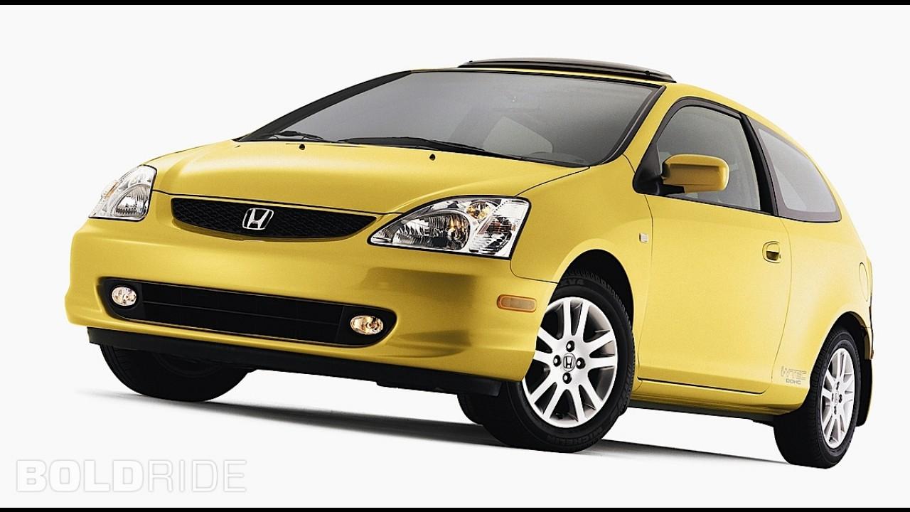 Honda Civic Si with Honda Accessories