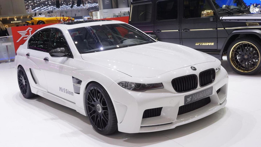 BMW M5 Mi5Sion by Hamann driven around Monaco [video]