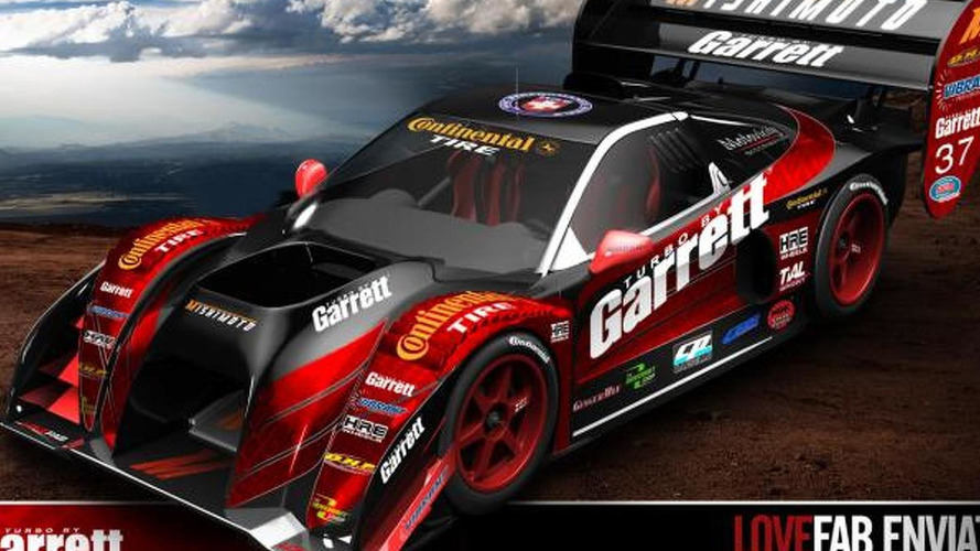 LoveFab to use an Acura NSX-based car at Pikes Peak [video]