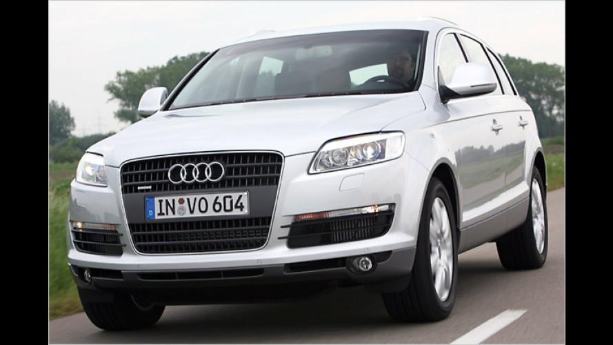 Neuer Audi Q7 4.2 TDI: Erste Ausfahrt im Diesel-Giganten