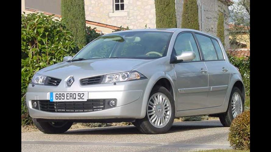 Renault Mégane: Mit geschärftem Blick und altem Knick