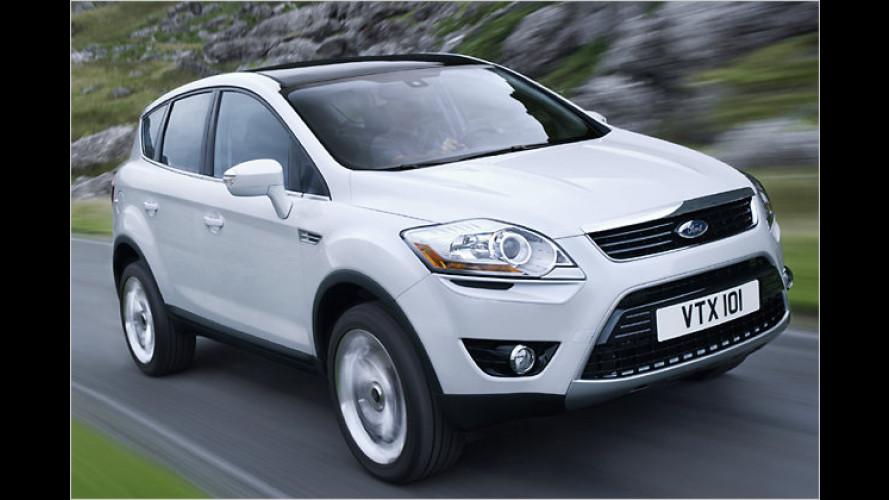 Ausblick auf das neue SUV-Modell Ford Kuga