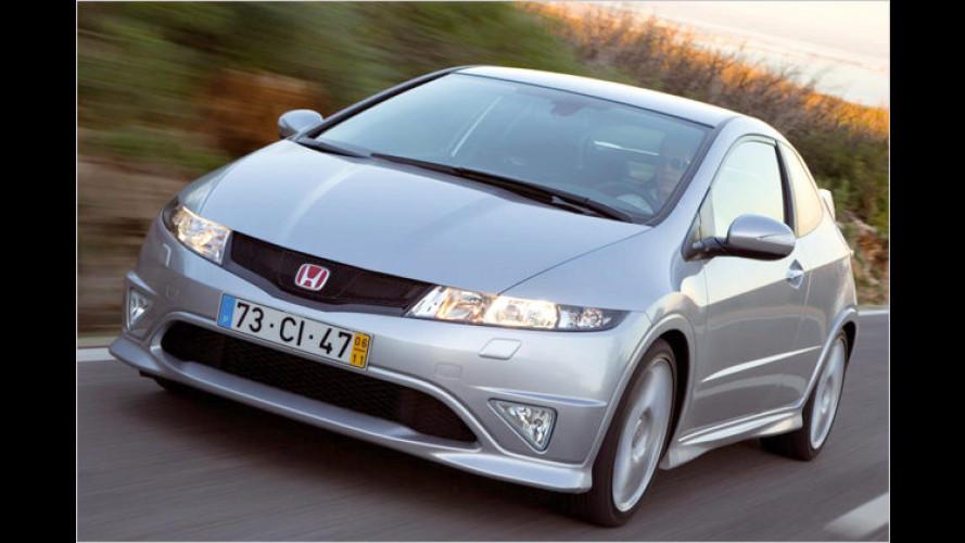 Honda Civic: Zwei scharfe Typen preschen an den Start