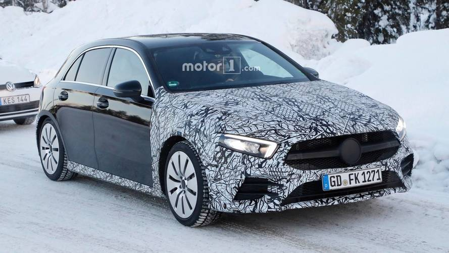 Mercedes-AMG A35 Spied Again With Even Less Camo