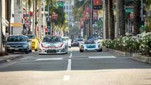 Porsche 935 And 910 Drive To Petersen
