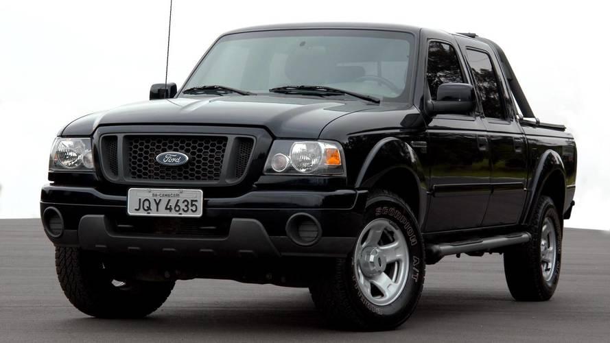 Ford faz recall da Ranger antiga para trocar airbag mortal