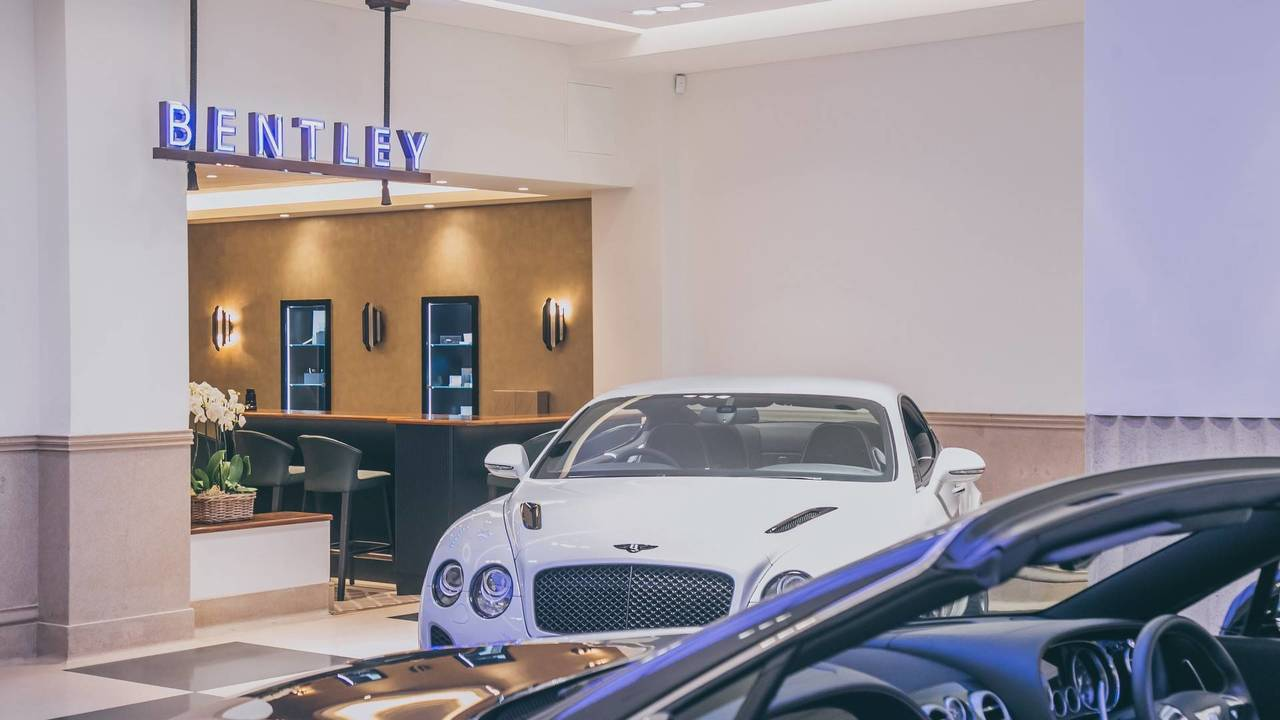 Jack Barclay Bentley showroom