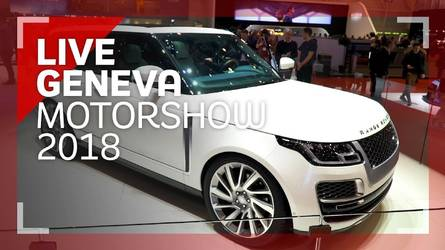 Genève 2018 - Présentation du Range Rover SV Coupe