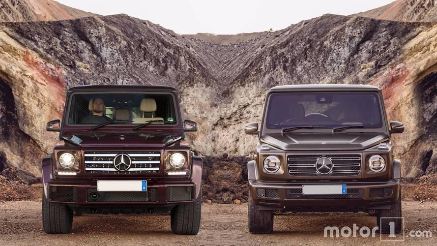 Rencontre entre le nouveau Mercedes Classe G et l'ancien