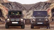 Side-by-side –see the changes on the new 2018 G-Class