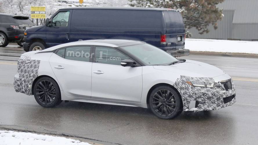 2019 Nissan Maxima Facelift Spied For The First Time